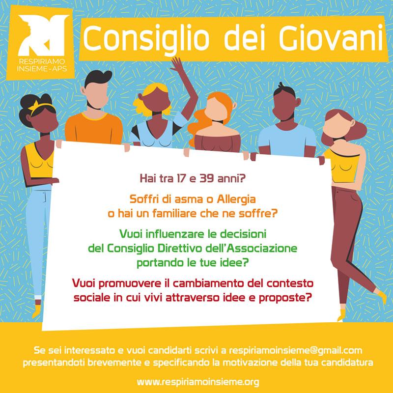 Consiglio dei Giovani dell'Associazione Respiriamo Insieme